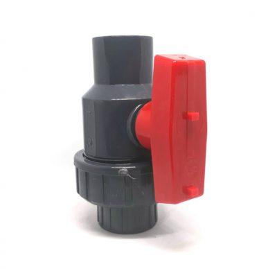 SINGLE-UNION-BALL-VALVE-SOCKET-RED-HANDLE